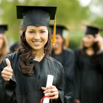 College Student Graduating